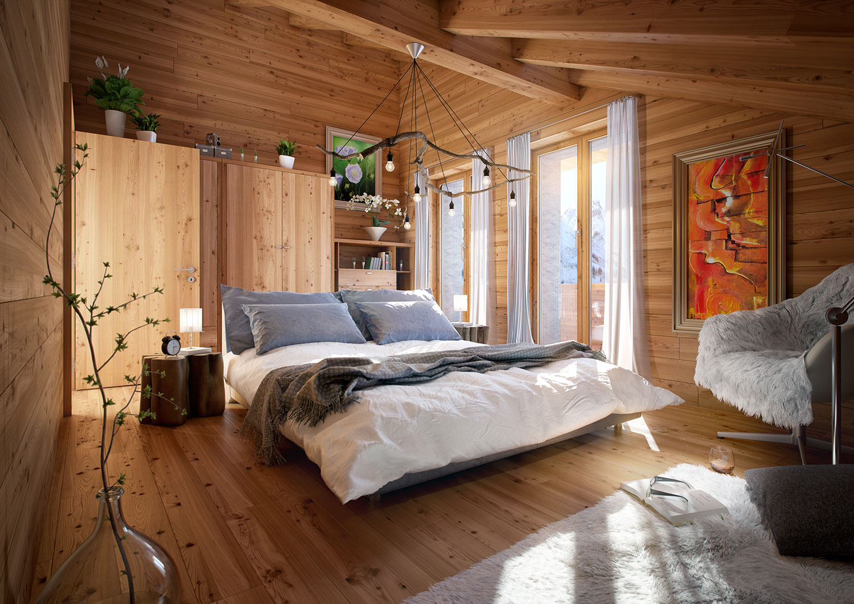 Schlafzimmer kuschelig  Arlberg Apartments - Arlberg Alpin Aparts